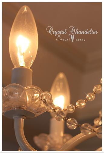 crystal-verry* クリスタルベリー *・オーナーのブログ・*-水晶のシャンデリア