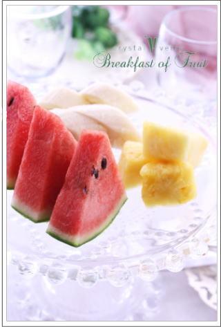 crystal-verry* クリスタルベリー *・オーナーのブログ・*-クリスタルベリー 朝食