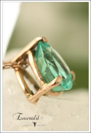 crystal-verry* クリスタルベリー *・オーナーのブログ・*-エメラルド ネックレス