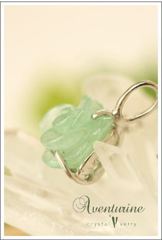 crystal-verry* クリスタルベリー *・オーナーのブログ・*-アヴェンチュリン ネックレス