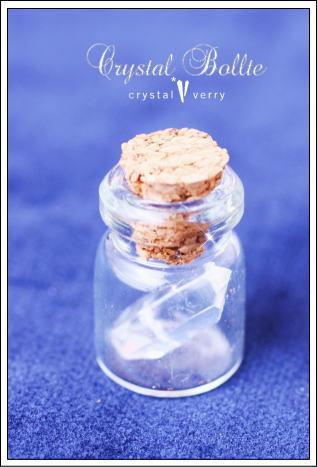 crystal-verry* クリスタルベリー *・オーナーのブログ・*-水晶ボトル