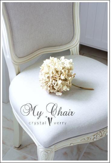 crystal-verry* クリスタルベリー *・オーナーのブログ・*-ローラアシュレイのイス