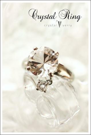 crystal-verry* クリスタルベリー *・オーナーのブログ・*-水晶の指輪