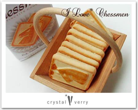 crystal-verry* クリスタルベリー *・オーナーのブログ・*-チェスメンクッキー