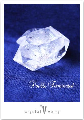 crystal-verry* クリスタルベリー *・オーナーのブログ・*-ハーキマー ダブルターミネイティッド