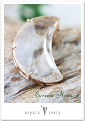 crystal-verry* クリスタルベリー *・オーナーのブログ・*-お月さま水晶ペンダント