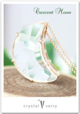 crystal-verry* クリスタルベリー *・オーナーのブログ・*-ムーン水晶ネックレス