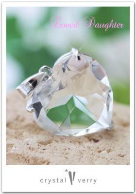 crystal-verry* クリスタルベリー *・オーナーのブログ・*-ハート型水晶ペンダント