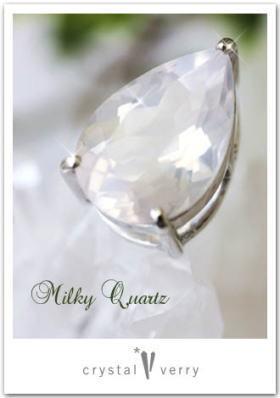 crystal-verry* クリスタルベリー *・オーナーのブログ・*-ミルキークォーツ クリスタル ベリー