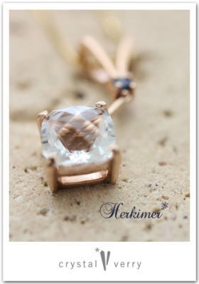 crystal-verry* クリスタルベリー *・オーナーのブログ・*-ハーキマーダイヤモンド クリスタル ベリー