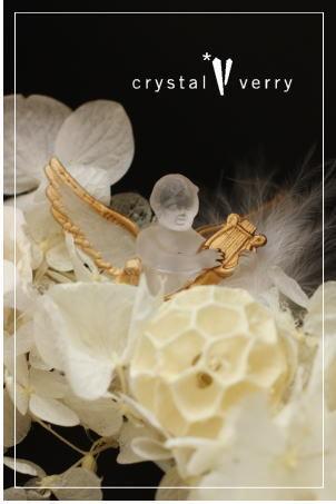 crystal-verry* クリスタルベリー *・オーナーのブログ・*-天使 リース