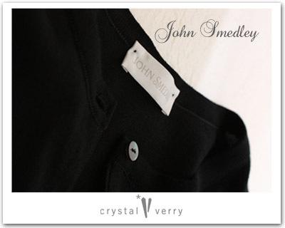 crystal-verry* クリスタルベリー *・オーナーのブログ・*-ジョン スメドレー ツインニット 黒