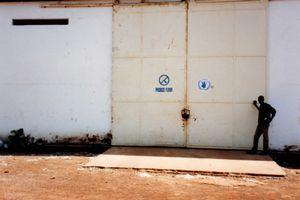 WFPの倉庫