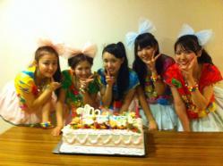 10周年℃デカケーキ