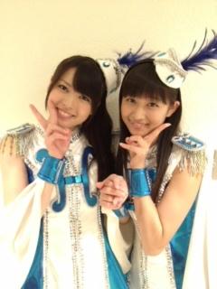 舞美ちゃんと和田ちゃん