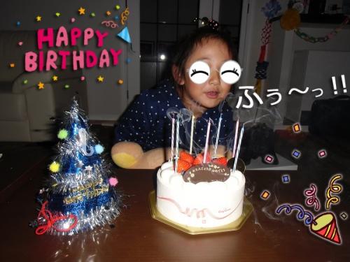 7歳のお誕生日
