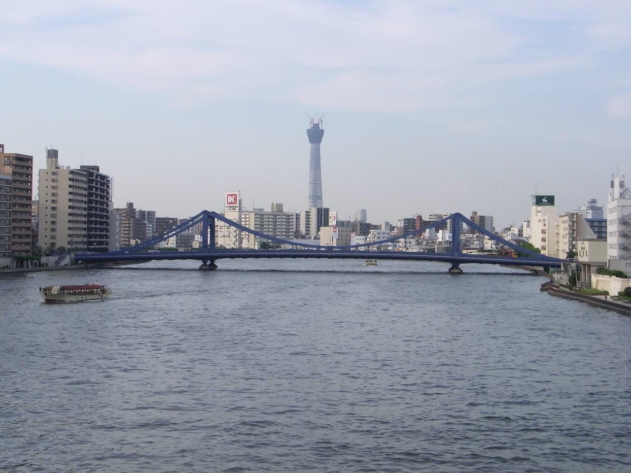 墨田大橋からの眺望