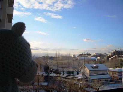 雪とオヤジ