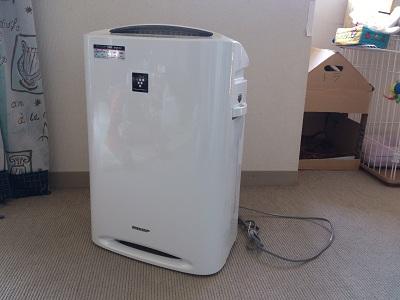 加湿空気清浄機2