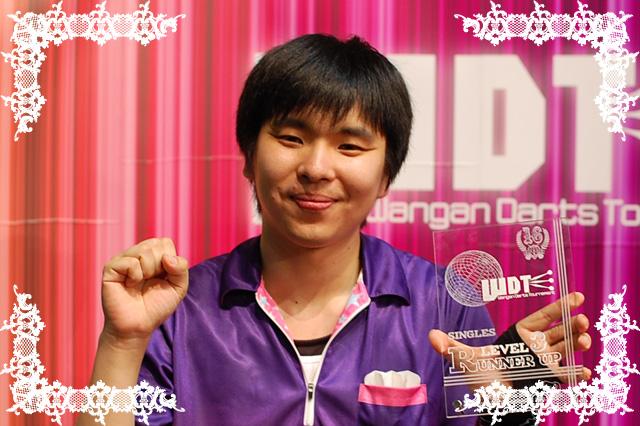 WDTlv3シングルス準優勝イシカワヒロシ