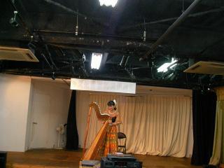 アルパの演奏
