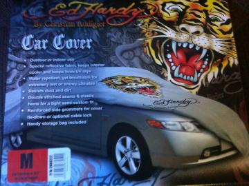 Ed Hardy 'Tiger' Car Cover M \7,329