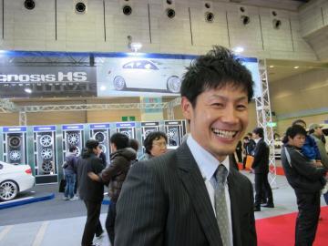 大阪オートメッセ Exizzle-Lineタジマクン