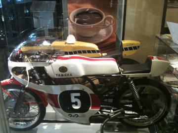 レースバイク マックさんの家