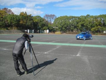 JUKE Custom Style Wagon 撮影