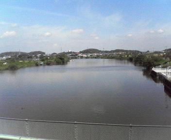 20110908長門川酒直水門から利根川方面望む