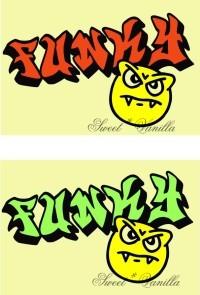 Sweet☆Vanilla-FUNKY 下絵