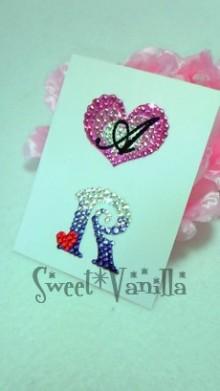 Sweet☆Vanilla-イニシャルデコシール