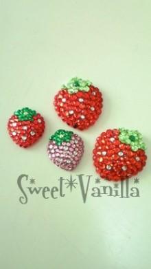 Sweet☆Vanilla-デコ いちご