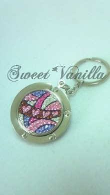 Sweet☆Vanilla-プッチ柄 バッグハンガー