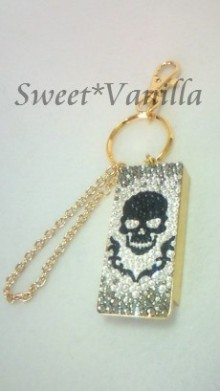 Sweet☆Vanilla-スカル フリスクケース
