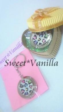 Sweet☆Vanilla-ヒョウ柄 マルチ バッグハンガー