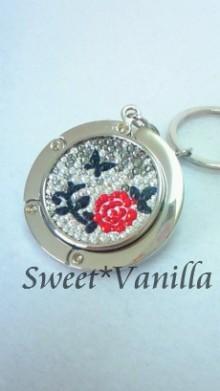 Sweet☆Vanilla-バラ デコバッグハンガー