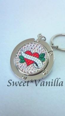 Sweet☆Vanilla-ハート デコバッグハンガー