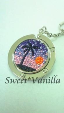 Sweet☆Vanilla-サンセットビーチ デコバッグハンガー