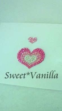 Sweet☆Vanilla-ハートプッチ ポイントシール