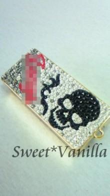 Sweet☆Vanilla-スカル デコフリスクケース