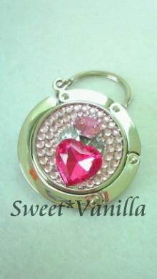 Sweet☆Vanilla-デコ バッグハンガー