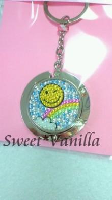 Decoshop Sweet☆Vanilla-スマイリー デコバッグハンガー