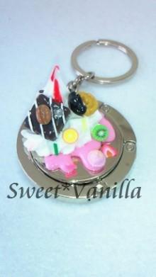 Decoshop Sweet☆Vanilla-スイーツデコ バッグハンガー