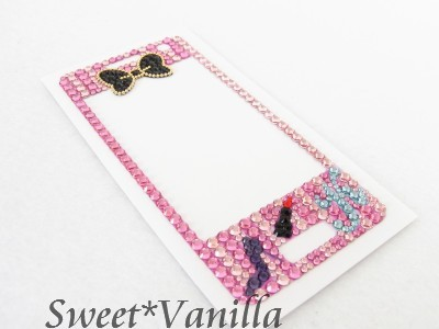 Decoshop Sweet☆Vanilla-L-04A バービー風 デコシート