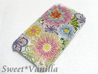 Decoshop Sweet☆Vanilla-iPhone3Gジャケット 和柄