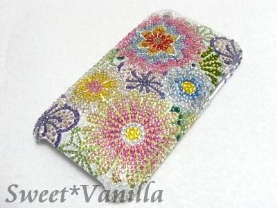 Decoshop Sweet☆Vanilla-iPhone3Gジャケット 和柄