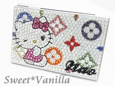 Decoshop Sweet☆Vanilla-マルチ&キティさん デコカードケース