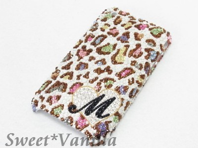 Decoshop Sweet☆Vanilla-iPhone3G.3GS ヒョウ柄マルチ カバー