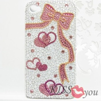 Decoshop Sweet☆Vanilla-iPhone4ケース リボンデザイン